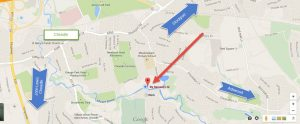 Google map for By Request Caterers location in Cheadle, Stockport